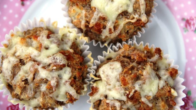 Cheese and bacon savoury muffins