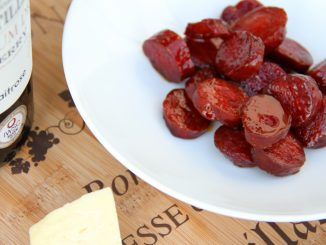 Sweet and sour chorizo