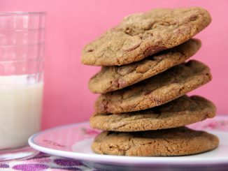 Devil's chocolate chip cookies