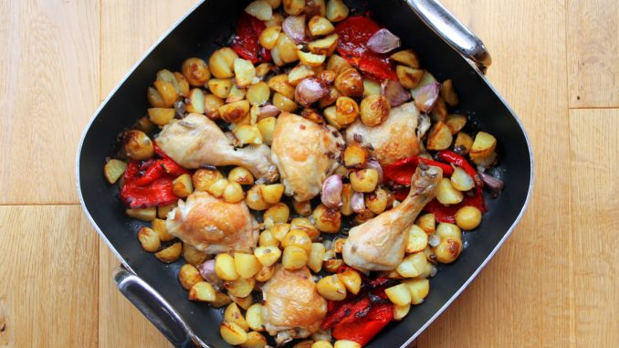 Sunday one-pan chicken