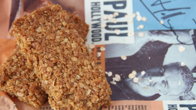 Paul Hollywood Bran Coconut Flapjacks