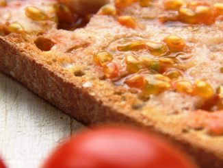 Spanish tomato on toast