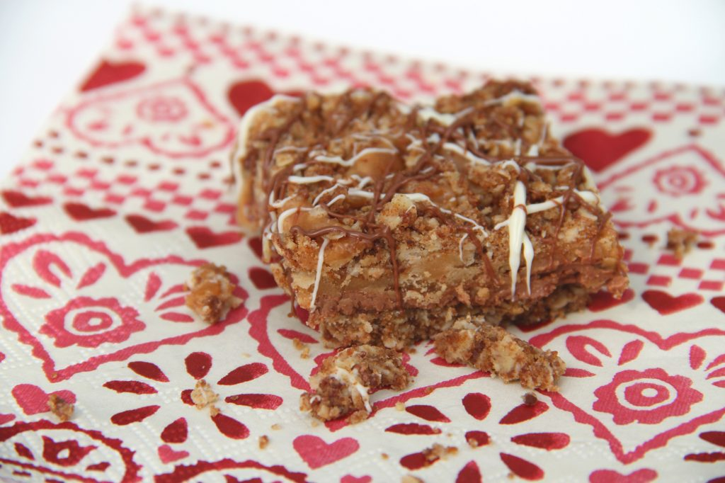 Coconut Caramel Crumble Bar