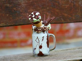 Choc Chip and Mint Freakshake