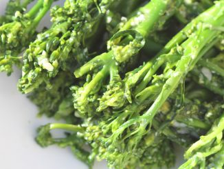 Parmesan tenderstem broccoli