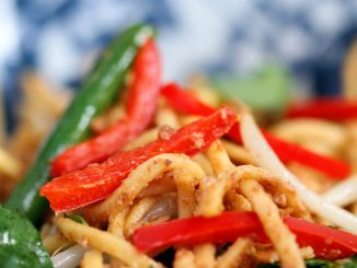Spicy Satay Noodles