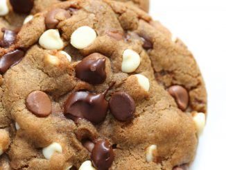 Devil's Triple Chocolate Chunk Cookies