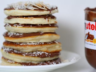 Nutella and Coconut NaughtyStack