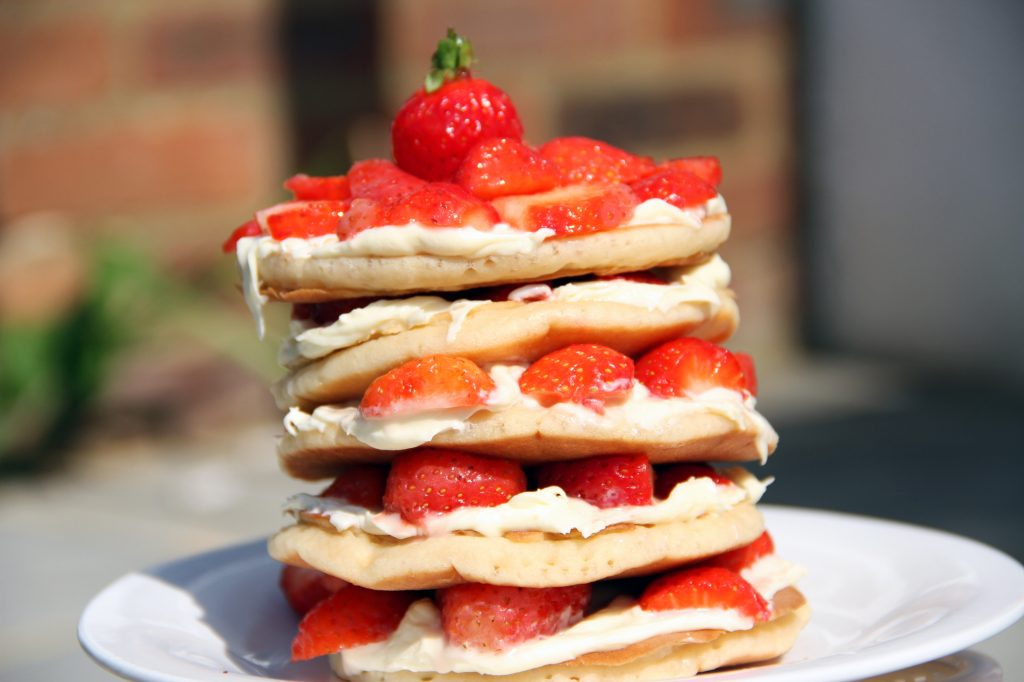 Strawberries and Cream NaughtyStack