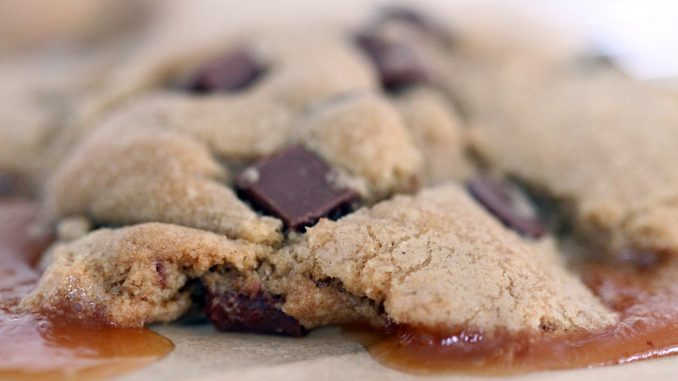 Salted Caramel and Chocolate Cookies