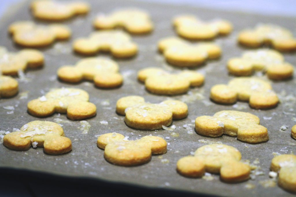 Cheesy Mouse Biscuits