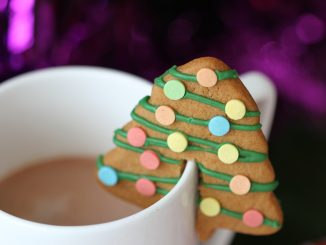 Christmas Hot Chocolate Gingerbread Perches