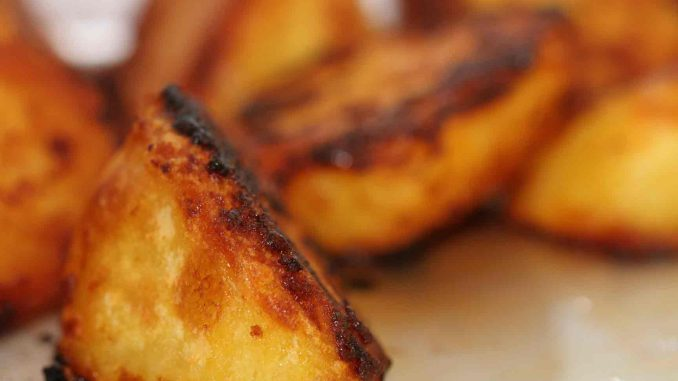 Gochujang Roast Potatoes