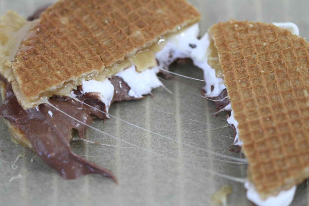 Toffee Waffle S'Mores