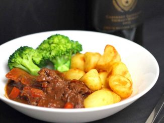 Beef Casserole with Chocolate Sauce