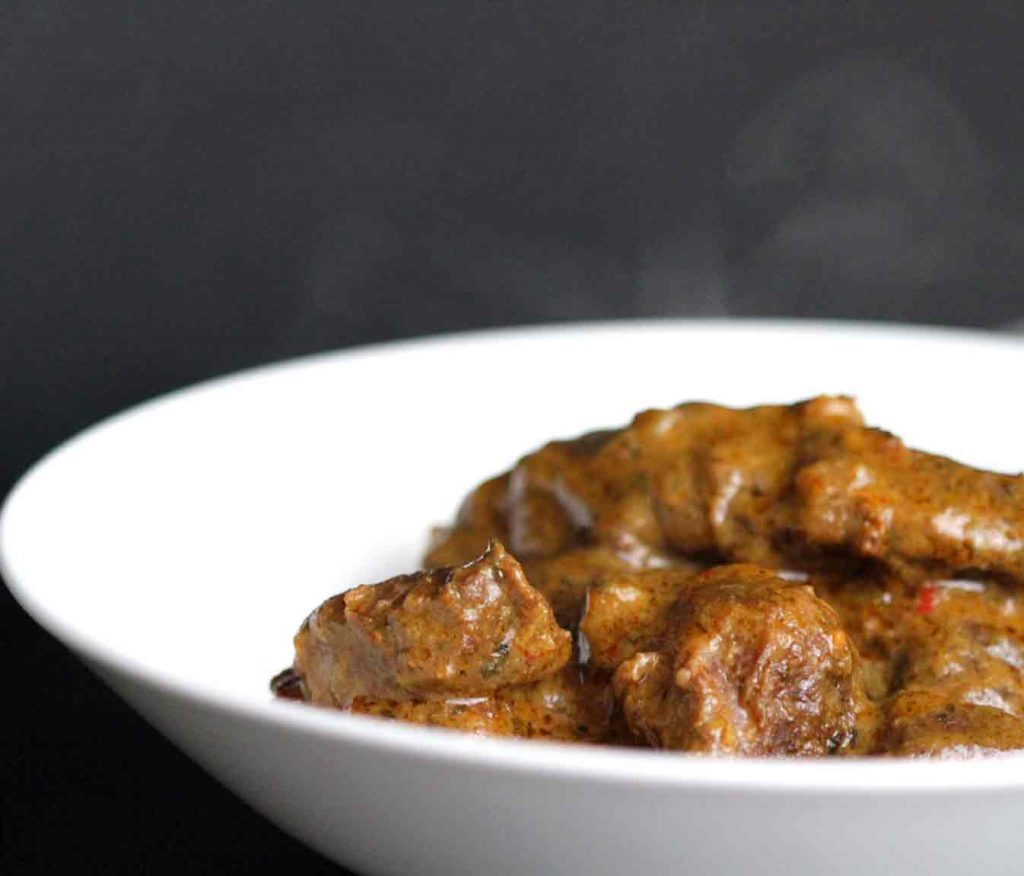 Beef Stew with Coconut